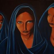 Trois femmes | 100×65