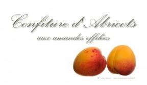 Confiture d'abricot aux amandes effilées