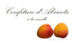Confiture abricot à la vanille