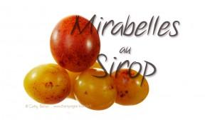 mirabelles au sirop