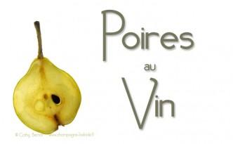 poires au vin