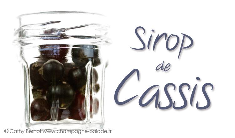 etiquette vin de cassis